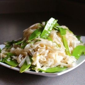 Vermicelli and Snow Pea Salad