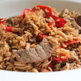 Beef and Black Bean Stir Fry