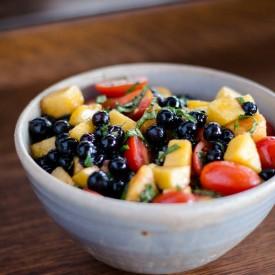 Summery Balsamic Fruit Salad
