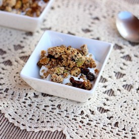 Almond Honey Granola