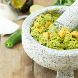 Sweet Plantain Guacamole