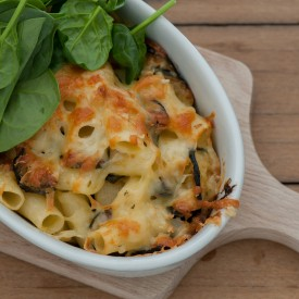 Zucchini Mac & Cheese