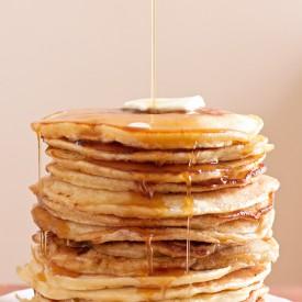 Bourbon Maple Buttermilk Pancakes