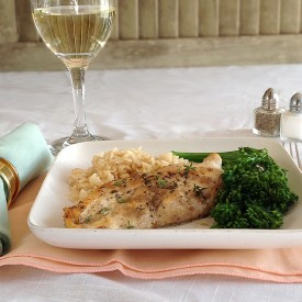 Chicken with Wine-Herb Sauce