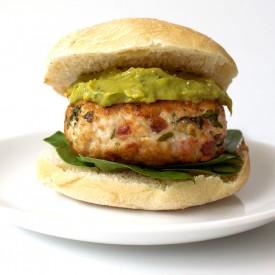 Chicken & Bacon Burger with Avocado