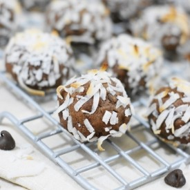 Chocolate Coconut Drops