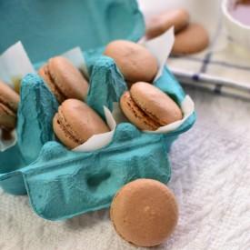 Cocoa Macaron