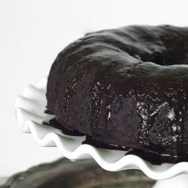 Chocolate Persimmon Bundt Cake