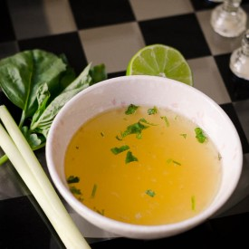 Homemade Thai Chicken Soup