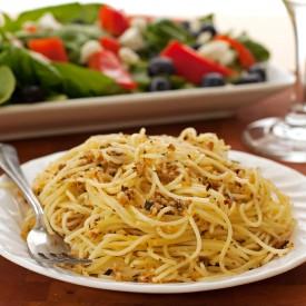 Lemon & Toasted Hazelnut Spaghetti