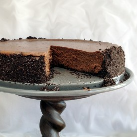 Midnight Mocha Cheesecake