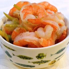 Easy Sauteed Ginger-Scallion Shrimp