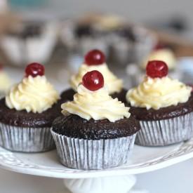 Choco cupcake with Vanilla frosting
