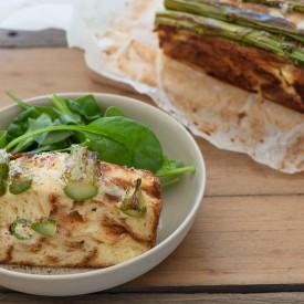 Asparagus Bread 'Torta'