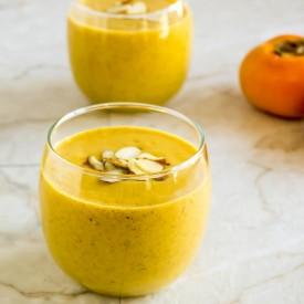 Persimmons Pumpkin Orange Smoothie