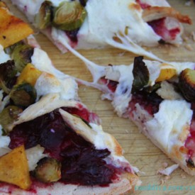 Leftover Thanksgiving Pizza