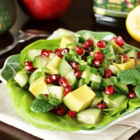 Avocado & Pomegranate Salad
