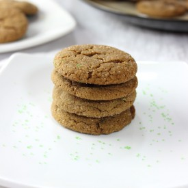 Make Ahead Molasses Cookies