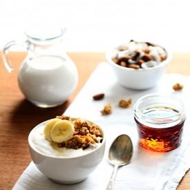 Healthy Maple-Nut Granola