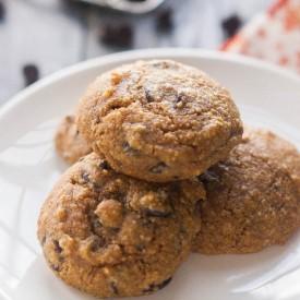 Paleo Pumpkin Chocolate Chip Cookie