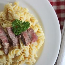 Steak and Cheese Macaroni