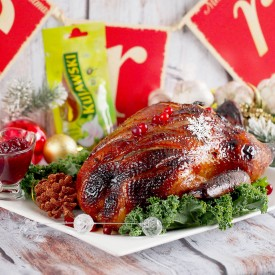 Christmas Roast Duck with Honey