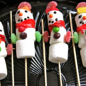 Gluten-Free Marshmallow Snowmen
