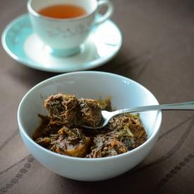 Crockpot Beef Plantain Stew