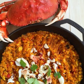 Easy Crab Curry