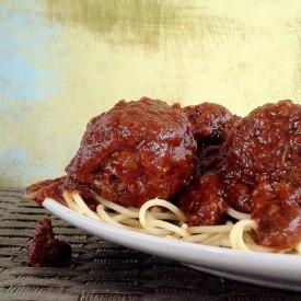Pork and Sausage Meatballs