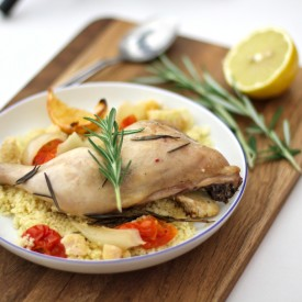 Rosemary oven roasted chicken