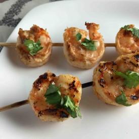 Spicy Grilled Shrimp Skewers