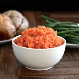 Roasted Carrot and Swede Mash