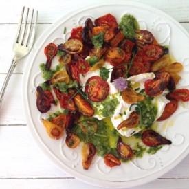 Burrata Roasted Tomato Salad