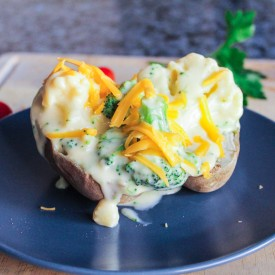 Cheesy Baked Potatoes