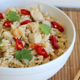 Thai Green Curry Fried Rice