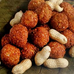 Kuli Kuli (Spicy Peanut Treats)