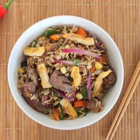 Spicy Beef Fried Rice
