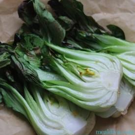 Garlic Ginger Baby Bok Choy