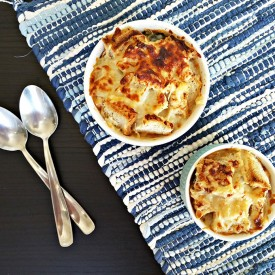 Bruleed garden minestrone soup
