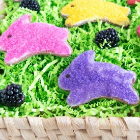 Whole Wheat Blackberry Easter Cooki