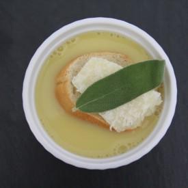 Easy Garlic-Sage Soup