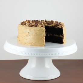 Chocolate Cake with Peanut Butter