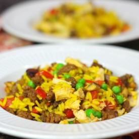 Chorizo & Chicken Rice Skillet