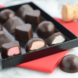 Fondant filled chocolates