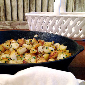 Garlic Home Fries