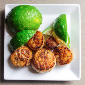 Scallops with Cumin and Lime