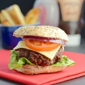 Easy Homemade Beef Burgers