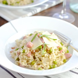 Pancetta, Pea & Cheese Risotto