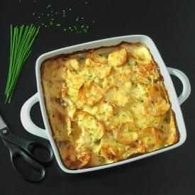 Garlic Cheesy Potatoes